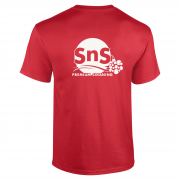 Short-Sleeve-TShirt-Red-Back