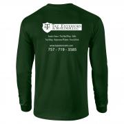 TAZ-Green-Long-Sleeve-Back
