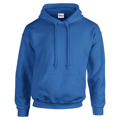 Adult Unisex Heavy Blend Pullover Hood Sweatshirt Royal Front