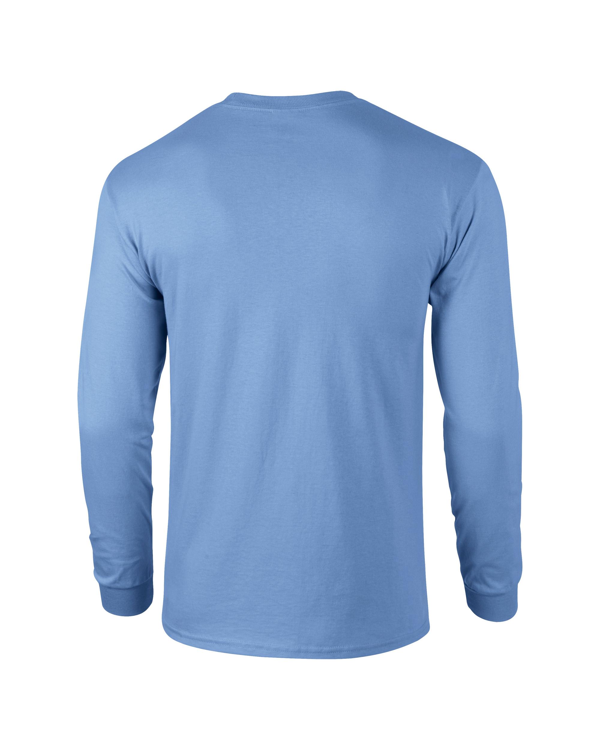 b02f77f22d2 ... Adult Unisex Ultra Cotton Long Sleeve T-Shirt Carolina Blue Back ...