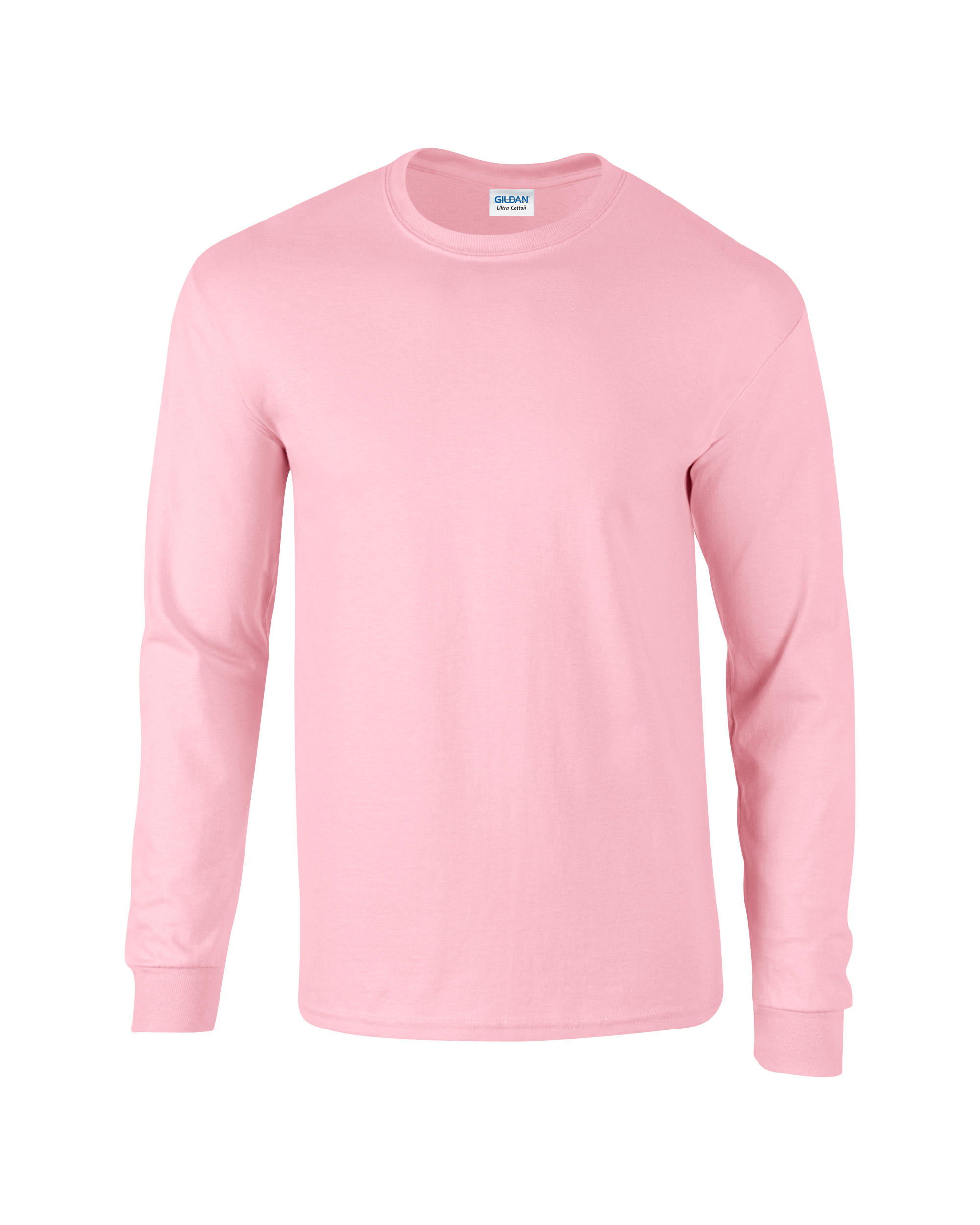 Gildan Adult Unisex Ultra Cotton Long Sleeve T-Shirt ...
