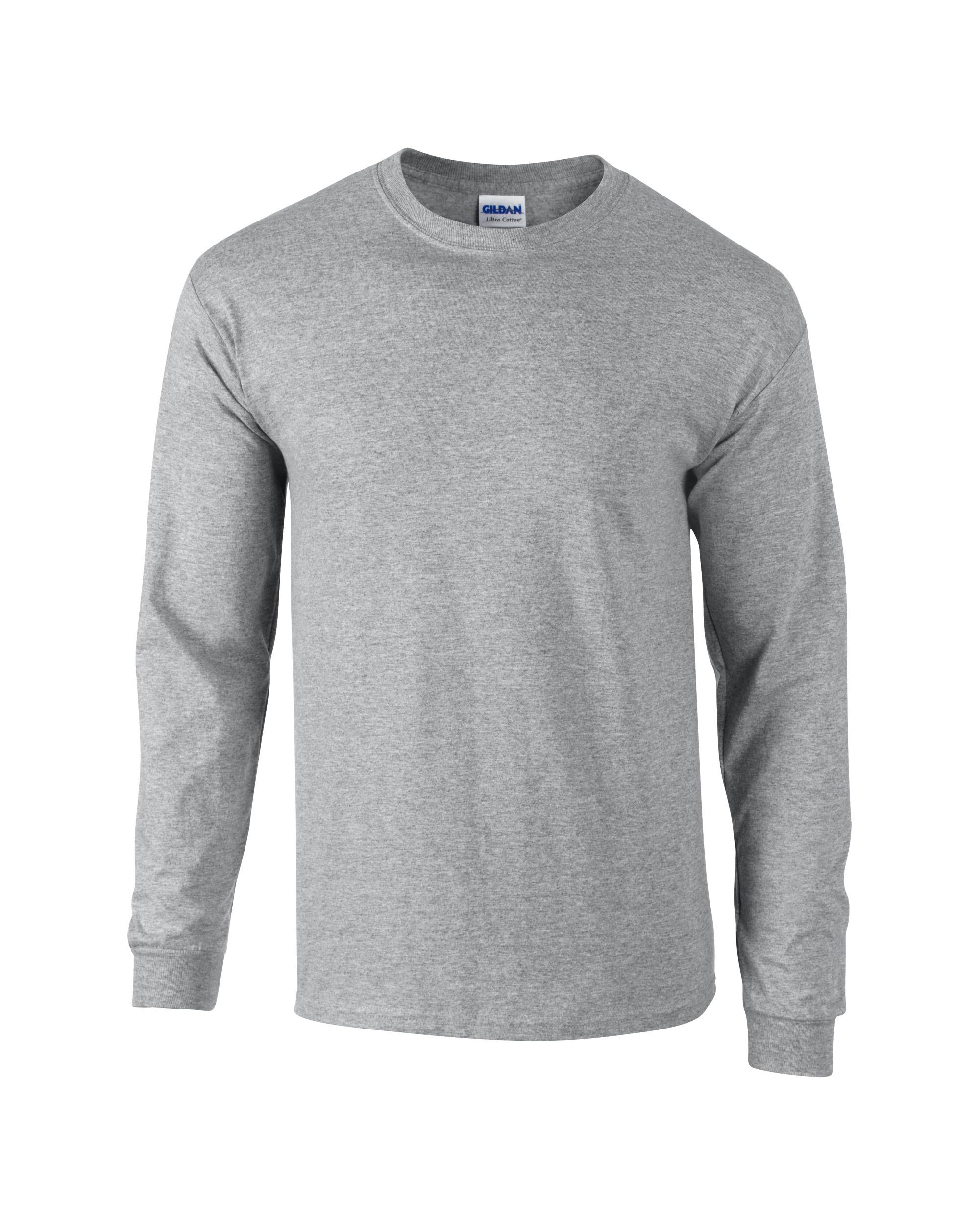 Gildan Adult Unisex Ultra Cotton Long Sleeve T Shirt
