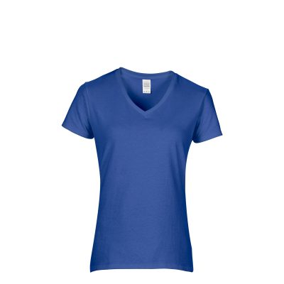 5V00L-7686C_royal-5.3 oz- heavy cotton- v neck-ladies shirts-youth shirts- t shirt design- graphic t shirts