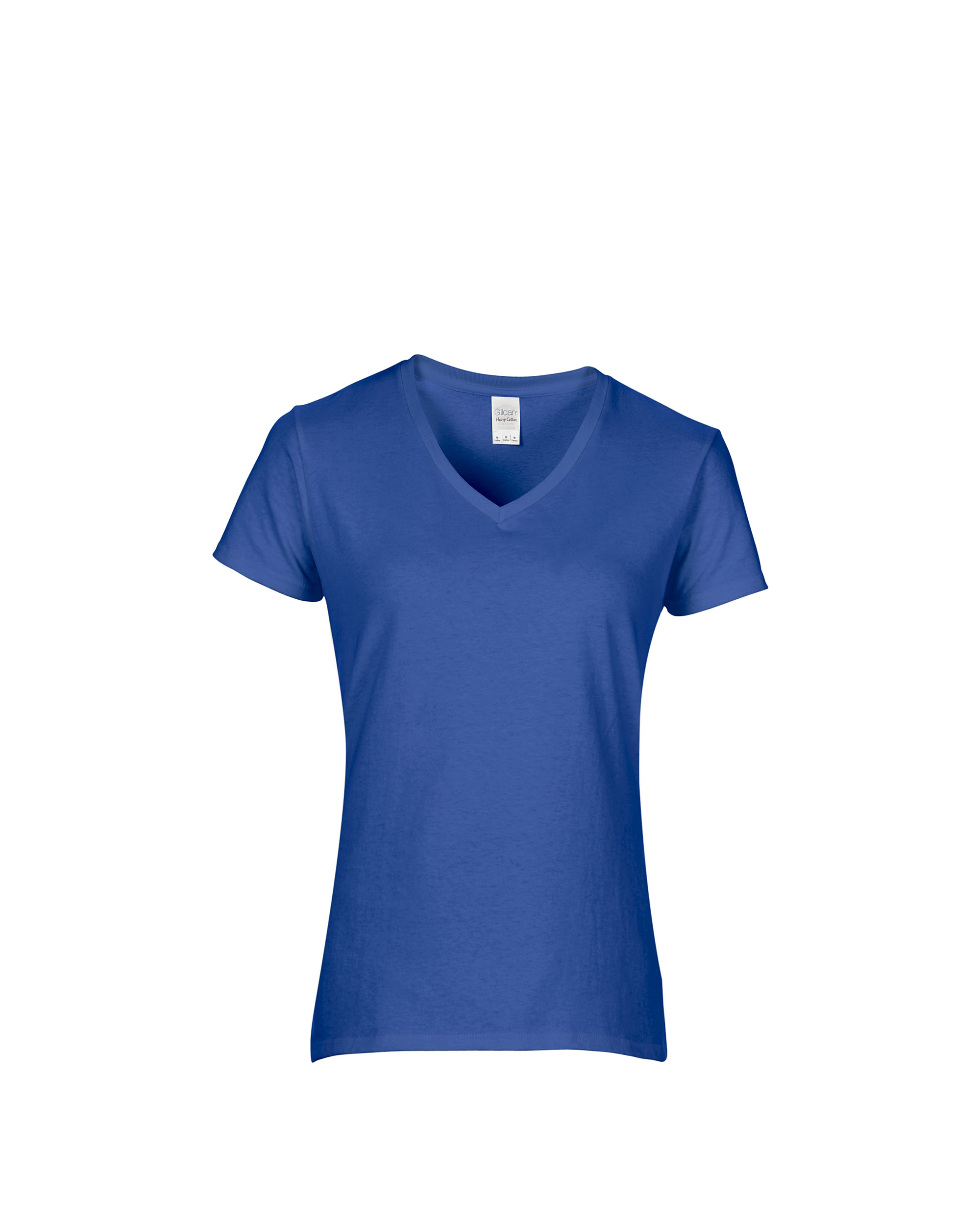 aeb18b926 Gildan Heavy Cotton™ Ladies  5.3 oz. V‑Neck T‑Shirt - Team Shirt Pros